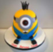 Minions Children Birthday Cake