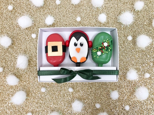 Penguin and Friends Cakesicles