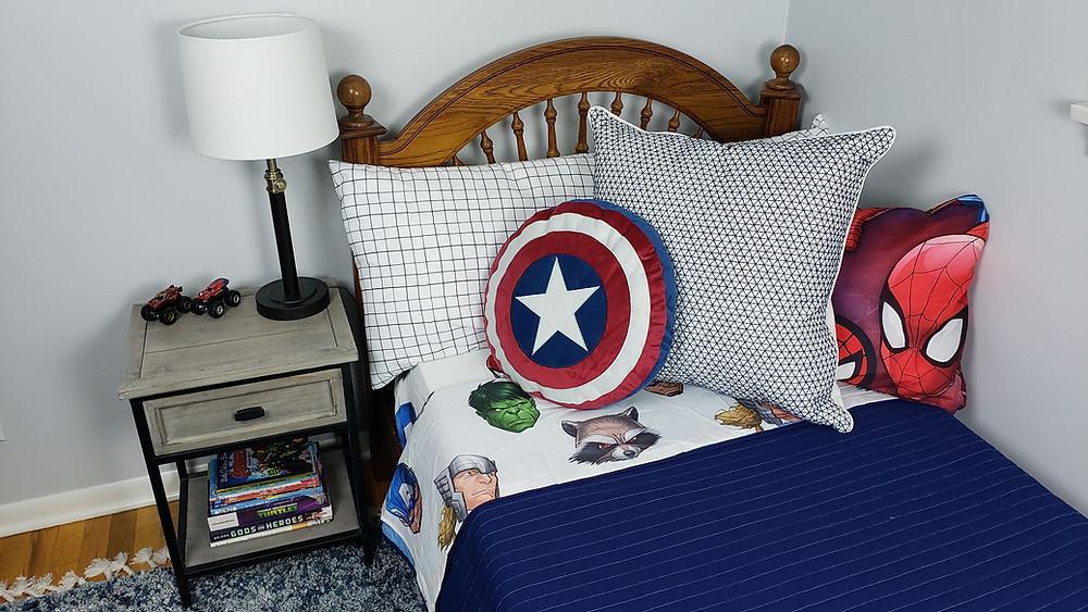 superhero bedroom design