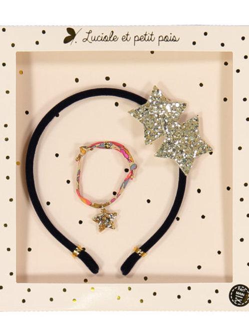 Coffret Serre-tête & Bracelet Liberty Betsy