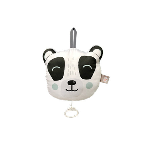 "Coussin musical Panda ""Le Sud"" de Nino Ferrer"