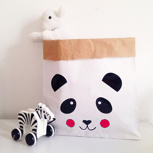 """Petit Sac de rangement """"Panda Rose"""""""