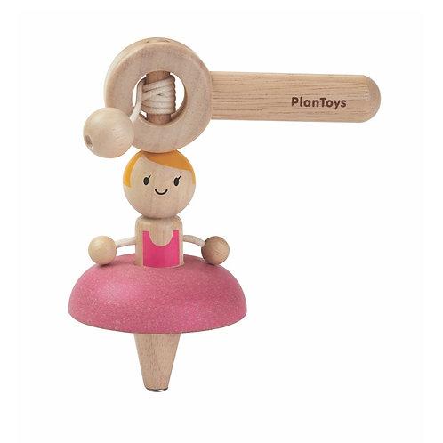 Ballerine Danseuse - Toupie en bois