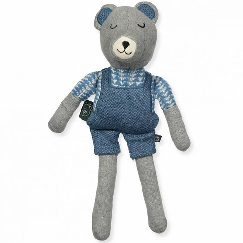 Teddy, l'ourson bleu