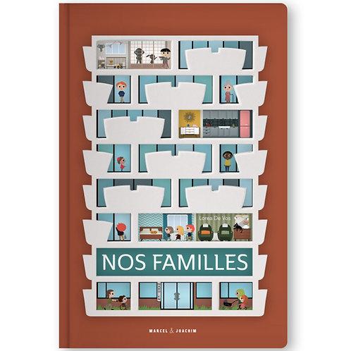 Le livre - Nos familles