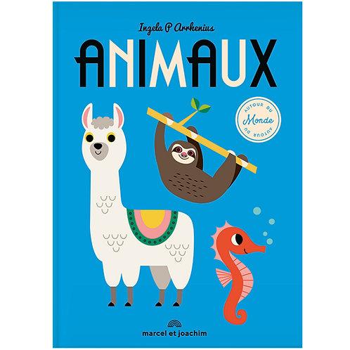 Le livre imagier géant - Animaux autour du monde - Liste Naissance Adriana