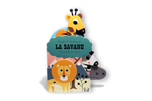 Le livre La Savane - Liste Anniversaire Adriana