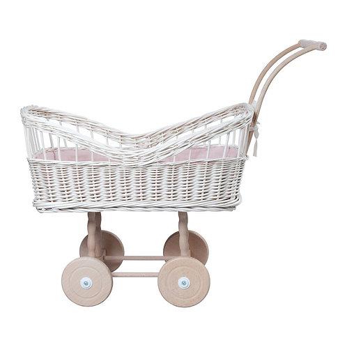 Le landau de poupée et ses accessoires