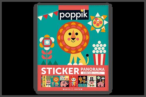 Sticker Poppik Circus