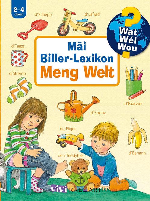 """Livre """"Mäi Biller-Lexikon - Meng Welt"""""""
