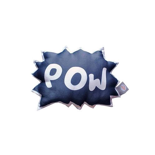Coussin illustré POW