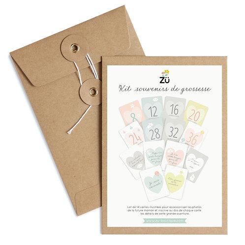 Kit Souvenirs de grossesse