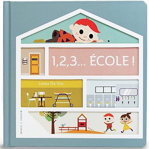 Le livre - 1,2,3... Ecole