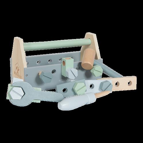 La boîte à outils en bois