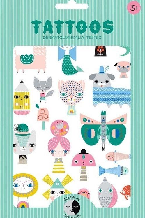 Tatouages illustrés Suzy Ultman