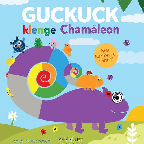 "Livre ""Guckuck, klenge Chamäleon"""