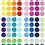 Thumbnail: Sticker Pois Multicouleur