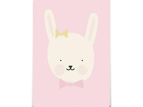 "Carte ""Miss Bunny"""