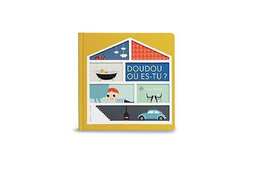 Le livre Doudou où es-tu ?