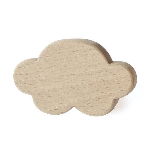 Patère Nuage en bois de hêtre