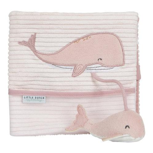 Livre en tissu - Ocean Pink