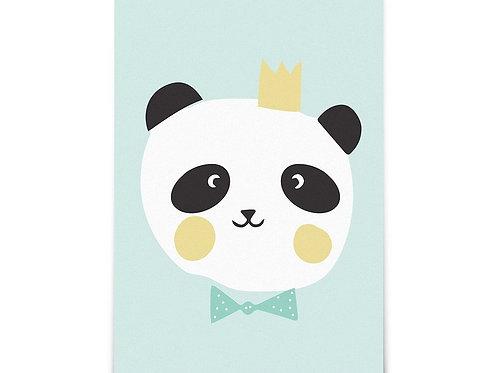 "Carte ""King Panda"""