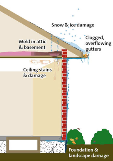 Gutter cleaning Colchester Illinois