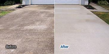 Concrete cleaning Peoria Illinois