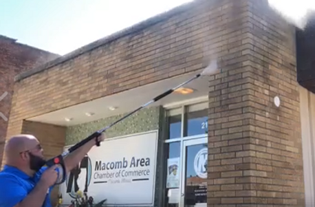 Pressure Washing Macomb Illinois