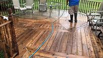 deck washng peoria illinois area
