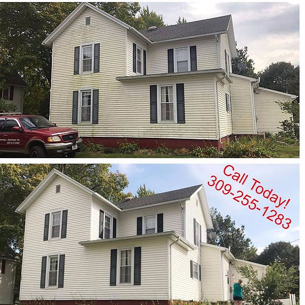 House Washing Avon Illinois, House Washing Peoria Illinois, Pressure Washing Peoria Illinois, Pressure washing macomb Illinois