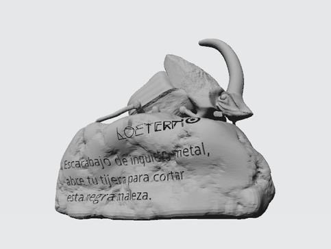 escarabajo 3D