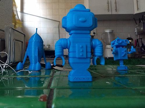 Imprime tus modelos 3D, de 11 a 15 cm de alto o ancho