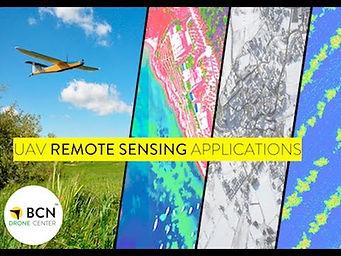 UAV Remote Sensing Applications Course 2