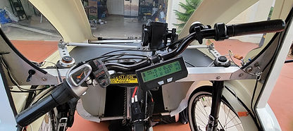 AA354 handlebars with CA front screen re
