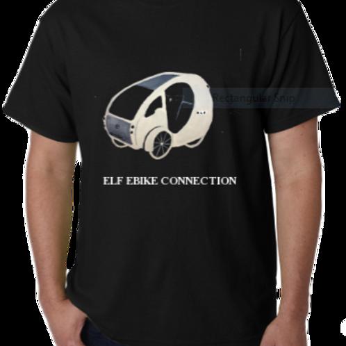 ELF T-shirt - Indigo Blue with White Logo