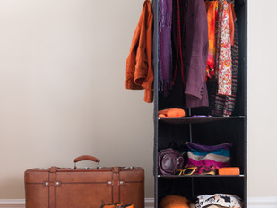 One Strategy to Help Maintain an Organised Wardrobe
