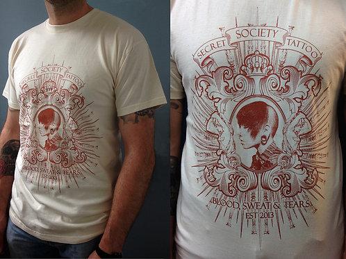 Skinhead Girl // Ornate Frame Tshirt