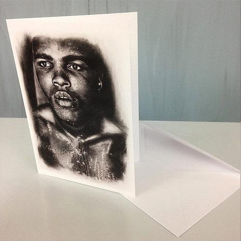 Greetings Card-Muhammad Ali