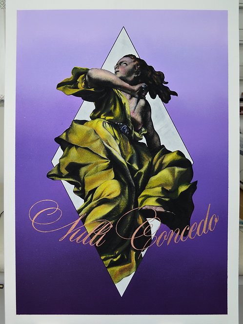 LUCRETIA (Purple & Bronze Edition)