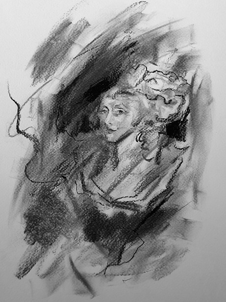 ROCOCO (Charcoal Sketch)