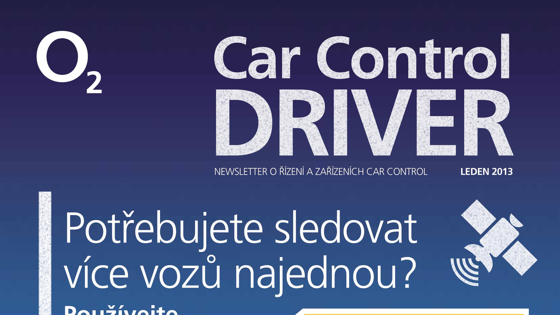 Car Control newsletter