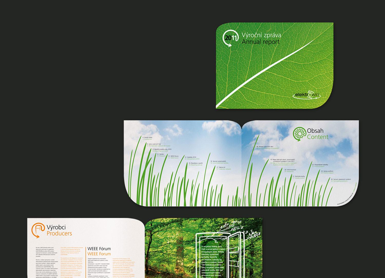 Design výroční zprávy