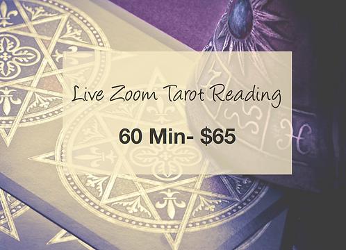 Tarot Reading 60 Min