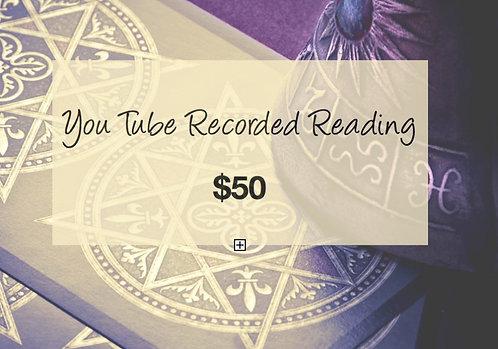 Recorded Tarot Reading