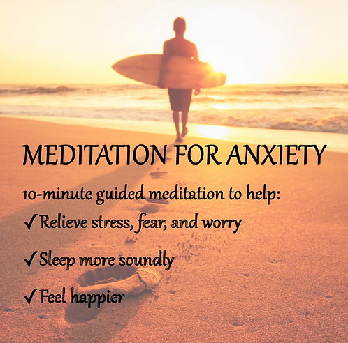 Anxiety Clearing Meditation