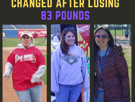83 Ways My Life Changed After Losing 83 Pounds
