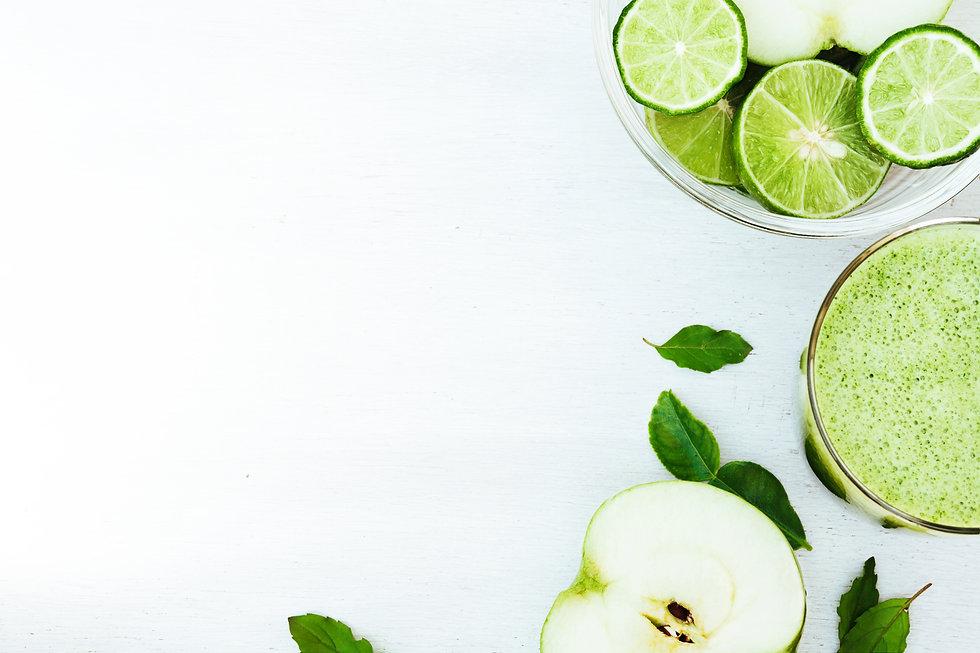 Green healthy drink. Vegetable juice, ap