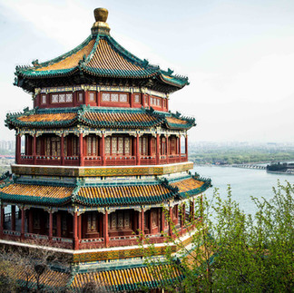 The Summer Palace , in northwest Beijing, is said to be the best preserved imperial garden in the world