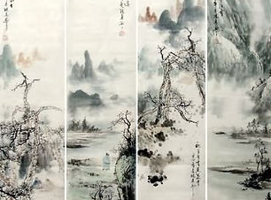 Chinese landscape painting tour